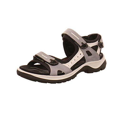 ECCO Damen Sportschuhe Sandalette Offroad 069563 02244 grau 439086 - Sportschuh Ecco Damen