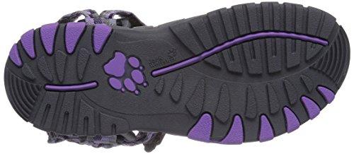 Jack Wolfskin - Kids Seven Seas, Sandali sportivi Unisex – Bambini Viola (Violett (wisteria 2061))