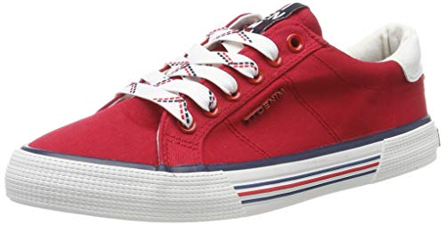TOM TAILOR Damen 6995301 Sneaker, Rot (Red 00004), 37 EU