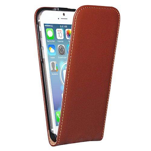 """deinPhone Étui pour iPhone 6(4,7"""") marron"""
