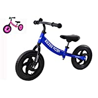 Eezee Rider Sport 12 inch Balance bike for toddlers and kids 2, 3, 4 & 5 year old. First training bikes without pedals. Learning bike for boys and girls. (Red, Blue and Pink)