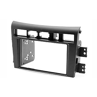 carav 11-186 Doppel DIN Autoradio Radioblende DVD Dash Installation Kit für Oprius, Amanti 2006–2010 Faszie mit 173 * 98 mm und 178 * 102 mm