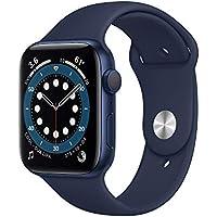 Neu AppleWatch Series6 (GPS, 44mm) Aluminiumgehäuse Blau, Sportarmband Dunkelmarine