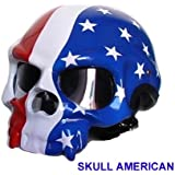 AlxShop - CASQUE SKULL CPT AMERICA - Taille : XS