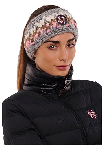 SPOOKS Stirnband Color Headband rosa/grey