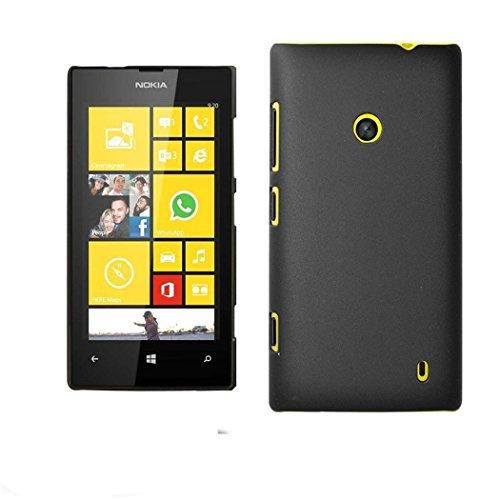SHINESTAR Lumia 520 Case - Premium Protection Hard PC Back Case Cover for Nokia Lumia 520 Phone - Black  available at amazon for Rs.139