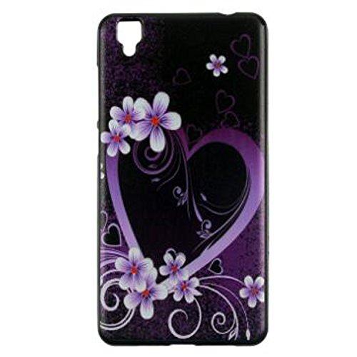 Yrlehoo Für Bluboo Maya, Premium Softe Silikon Schutzhülle für Bluboo Maya Tasche Case Cover Hülle Etui Schutz Protect, Herz