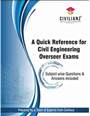 A quick reference for Civil Engineering Overseer exams