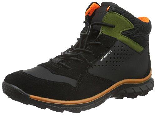 Ecco Unisex-Kinder Biom Trail Kids Outdoor Fitnessschuhe, Schwarz (BLACK/BLACK/BLACK/DARKSHADOW 58012), 28 EU