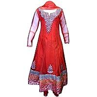 Bambini indiano Anarkali masakali Kids Churidar pigiama ragazza, Tuta per bollywood partito matrimonio 1007
