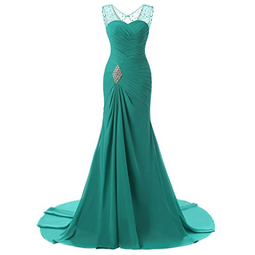 Drasawee - Robe - Taille empire - Femme green