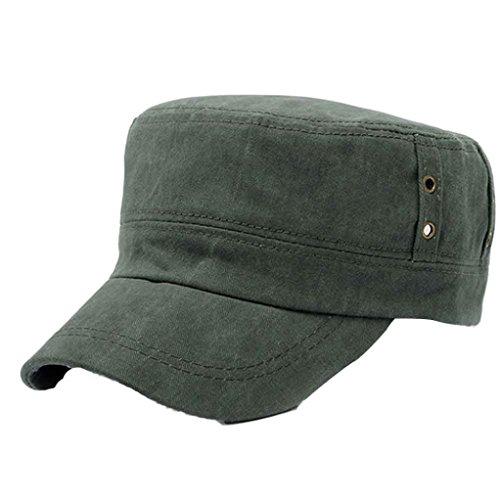 Herren Baseball Cap Damenmode Shopping Radfahren Ente Zunge Hut (Grün) (Dallas Cowboy Stroh Hut)