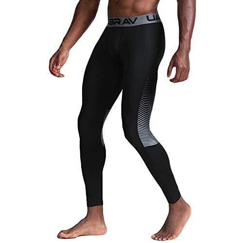 Setsail Herren Casual Fitness Schweißabsorption schnell trocknend elastische Sport Lange Hosen (24 Zoll Swim Trunks)