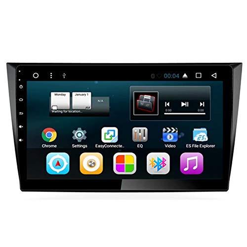 TOPNAVI Auto Stereo pour VW Golf 2009 2010 2011 2012 2013 Android 7.1 Autoradio Navigation GPS 32GB ROM WiFi 3G RDS Lien Miroir FM AM Bluetooth Audio Vidéo