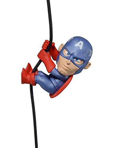 NECA Kletterer, Captain America Action-Figur (Mehrfarbig)