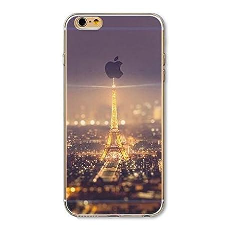 Coque Iphone 4 et 4S en silicone souple , paysage