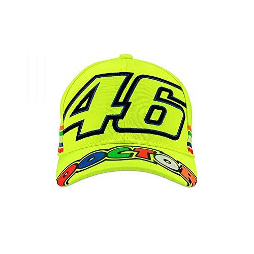 Valentino Rossi VRKCA307728 Kindermütze, Neongelb, Einheitsgröße