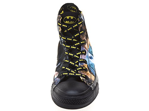 Converse All Star Harley Quinn Fashion Sneaker Athletic Chaussures de marche Batman/noir