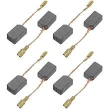 Sourcingmap a12050200ux0196 - 10 Pares De Escobillas De Carbón Parte Reparacion De Motores Electricos 13.3 x