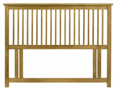 Gallery Collection Atlanta Oak 122cm (Small Double - 4ft) Headboard
