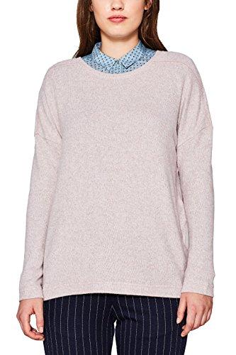 ESPRIT Damen Sweatshirt 117EE1J005, Violett (Lilac 2 561), Small