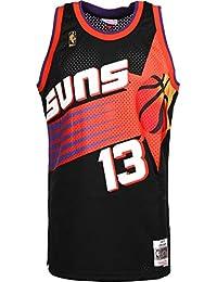 the latest 474b8 dfbe6 Mitchell   Ness Steve Nash  13 Phoenix Suns 1996-97 Swingman NBA Trikot  Schwarz
