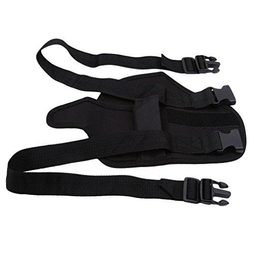 Jixing Kinder Taktische Gürteltasche Bein Holster Tasche Mit Kugel Speicher Handgelenk Gürtel Für Spielzeug Nerf Guns (Gun-speicher)