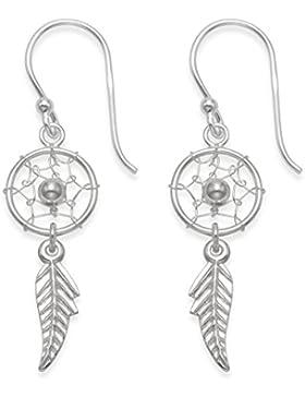 HEATHER Needham Sterling Silber Ohrringe Traumfänger Ohrringe–Größe: 10mm x 24mm (38mm mit Ohrring Drähte...