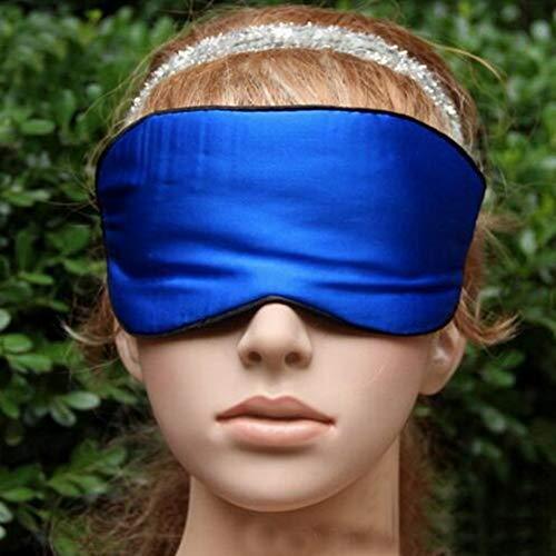 EgBert Honana Dx-321 Weiche Seide Reise Augenmaske Komfort Atmungsaktiv Frauen Männer Schattierung Schlafaugenmaske - Royal