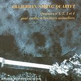 Quatuors N°1, N°2, N°3 Et N°4 Pour Cordes Et Bruitages Animaliers [Import anglais]...