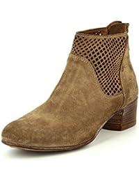 Moma 39706 tabacco Damen Boots & Stiefeletten in Mittel Gr.: 40 braun