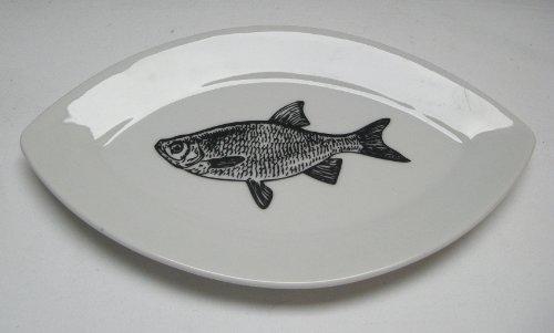 PPD Schale Schälchen Vorspeisen Teller oval Fine Fish