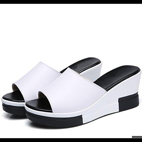 Etoile Plate Avec Des Sandales Pieds Simple Plage Sable De Sable Chaussures De Mode Pantoufles De Diamant Extérieur (2 Couleurs En Option) (taille Optionnelle) (couleur: A, Dimensions: Eu39 / A