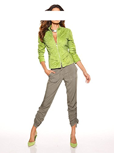 Heine - Blouson - Opaque - Femme Multicolore Kiwi Vert - Kiwi
