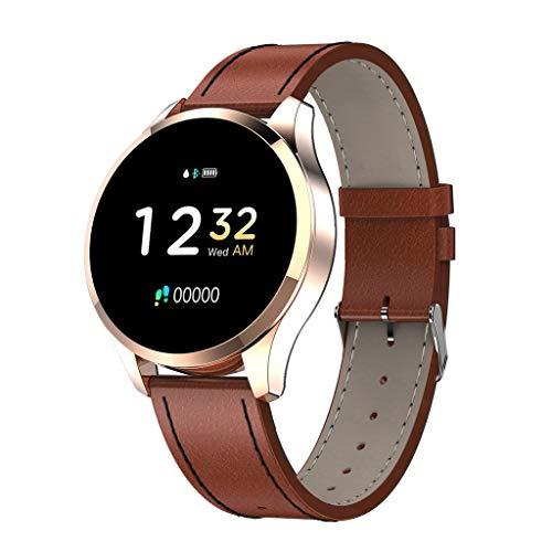 LRWEY Fitness Armband mit Pulsmesser, Q9 Smartwatch 1,22 Zoll Farbbildschirm Frauen Blutdruck Pulsmesser Smart Watch Fitness Tracker mit iOS Android Handy