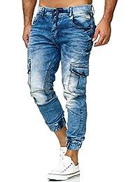 Red Bridge Homme Pantalon de Jogging Slim-Fit Relaxe Mode Denim Jeans ef273d102660