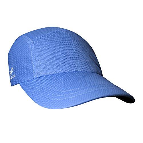 Headsweats Damen und Herren Rennkappe, Unisex, 7700, hellblau, Einheitsgröße