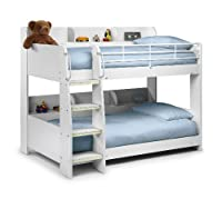 Julian Bowen Domino Bunk Bed - Single, All White Finish