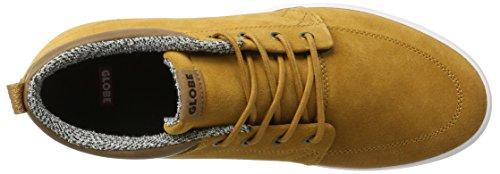 Globe Gs Chukka, Sneaker Multicolore Adulto Unisex (caramello Scuro / Bianco)