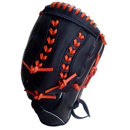 CXXX HT Baseball-Handschuh Outfielder Handschuhe Sport im Freien Üben Ausbildung Liga Softball Baseball Eltern-Kind-Aktivitäten (Handschuh Innere Softball)