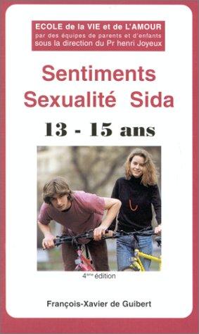 SENTIMENTS SEXUALITE SIDA par Collectif
