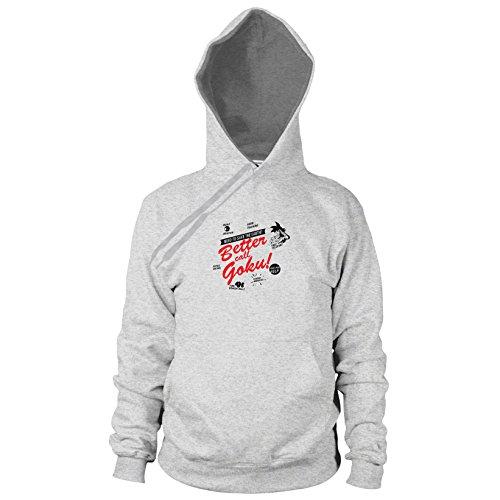 DBZ: Better Call Goku - Herren Hooded Sweater, Größe: XXL, Farbe: grau meliert