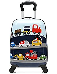 T-Bags Polycarbonate Light Blue Hard Sided Children's Luggage
