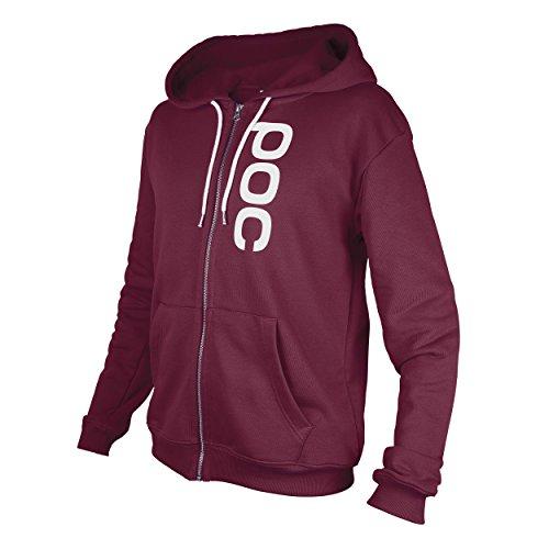 POC Herren  Pullover Hood Zip, L, Solder Red