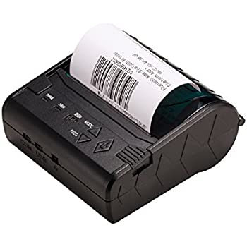 zkteco mini wireless bluetooth printer thermal receipt printer rh amazon co uk