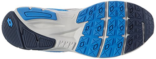 Lotto Sport Speedride 600, Scarpe Running Uomo Grigio (Slv Mt/blu Avi)