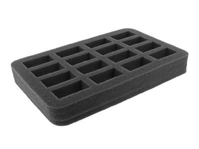 HS035BO 35 mm (1.38 Inch) slot foam with base - half-size