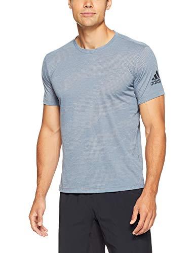 adidas Herren Freelift Aero Kurzarm T-Shirt, Raw Steel, S Preisvergleich