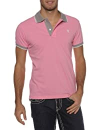 Williams Wilson Herren Shirt Poloshirt COLORED NECK 2 BUTTONS
