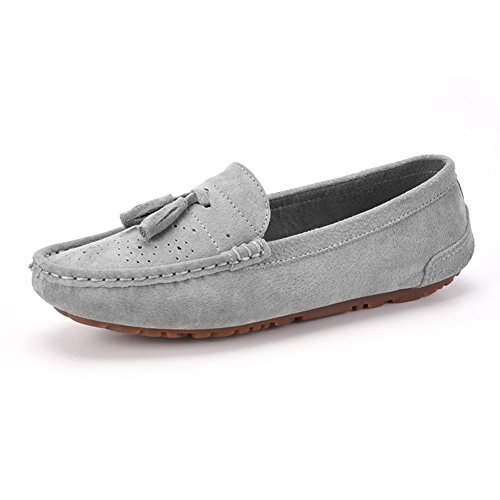 rond tête chaussures basses/Chaussures plates/Chaussures plates légères/Chaussures de conduite B